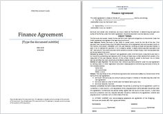 Franchise Agreement Template At FreeagreementtemplatesCom