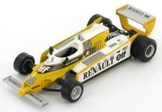 Renault-RE23-Rene-Arnoux-1980-1-43 F1, Diecast, Ebay, Motorbikes