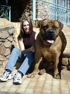 don't mess with me...in case you didn't notice...i have a BIG dog! :)