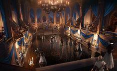 Dragon age: Winter Palace ballroom concept art