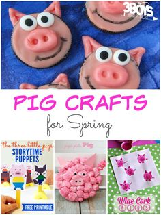 Pin Tweet Share +1From the Three Little Pigs to Olivia to Peppa Pig – those cute, little, pink, oinkers are super popular not just with preschoolers but also with the lower elementary crowd! So, what better way to keep the kids entertained than to let them get their hands dirty? These 17pig crafts for Springare […]