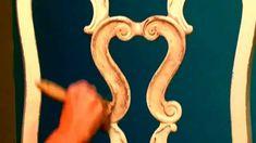 Glazing using Dixie Belle Glaze Annie Sloan Painted Furniture, Annie Sloan Paints, Chalk Paint Furniture, Distressing Chalk Paint, Paint Stain, Recycled Furniture, Furniture Projects, Furniture Makeover, Painted Cedar Chest