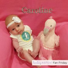 Baby Aspen #FanFriday: We spotted this little one snapping a pretty photo with her flamingo friend, and she's looking TUTU cute.