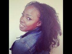 Unbelievable Crochet Braids Pt 2: Afro Kinky Kanekalon - YouTube
