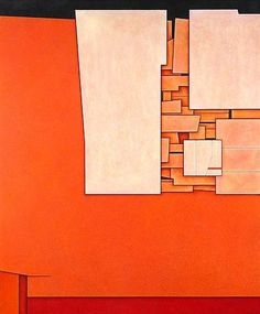 Gunther Gerzso (June 17, 1915 – April 21, 2000) was a Mexican painter, designer and director and screenwriter for film and theatre.  White-Red-Orange, 1970