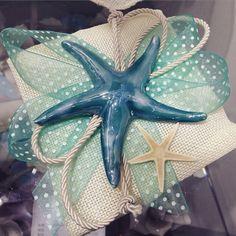 Meravigliosa stella marina effetto madreperla