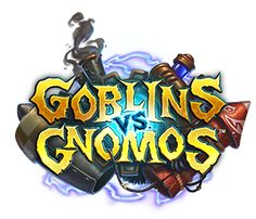 GameGeex - Game Geex @ BlizzCon Hearthstone explodes with Goblins vs Gnomes - Explosions and Inventions are flooding into Hearthstone, and the result is some crazy fun. Game Logo, Game Ui, Hearthstone Heroes Of Warcraft, Ipad, Text Effects, Cool Logo, Goblin, Science Fiction, Character Design