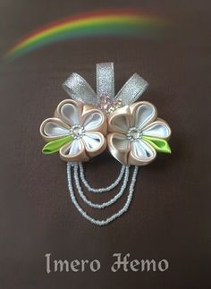 Cute fabric brooch