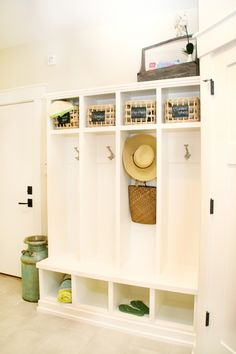 laundry rooms and entry ways galore!