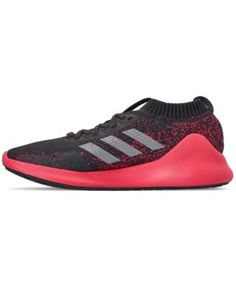 finest selection cfa72 844d1 adidas Womens PureBOUNCE+ Running Sneakers from Finish Line - Gray 7.5