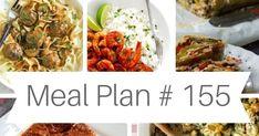 ΤΟ ΜΕΝΟΥ ΤΗΣ ΕΒΔΟΜΑΔΑΣ / WEEKLY MEAL PLAN # 155 by Ioanna Limberopoulou Meals For The Week, Meal Planning, Easy Meals, Ethnic Recipes, Food, Eten, Meal Prep, Easy Dinners, Meals