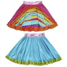 813632ed2c3 Original Reversible Twirly Ruffle Skirt