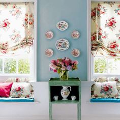English Country Cottage Decor | ... the windows and add to the overall charm of the English cottage style