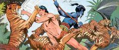 Tarzan - desenho de Russ Manning - imagem 2