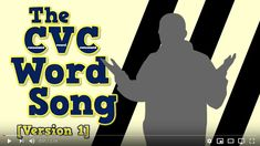 The CVC Word Song (Version This would be a great video to use late fall during morning meeting time. Great to practice quick recognition of CVC words. This could be used from fall through winter to keep practicing putting these words together quickly. Harry Kindergarten, Teaching Kindergarten, Teaching Reading, Reading Activities, Teaching Time, Teaching Ideas, Kindergarten Graduation, Reading Centers, Reading Fluency