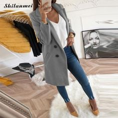 Jackets & Coats Trend Mark Women Fashion Autumn Long Sleeve Streetwear Ladies Casual Lace Up Vintage Coat Elegant Jackets Dames Cardigan Veste Femme Delicious In Taste Basic Jackets