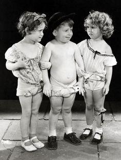 Shirley Temple in War Babies, 1932