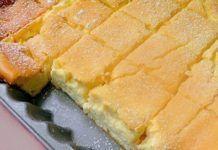 Această prăjitură va deveni preferata voastră: trebuie doar să amestecați totul într-un vas, apoi puneti la cuptor. Va ieși o prăjitură delicioasă