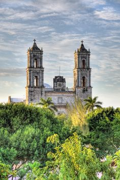 Iglesia de San Gervasio, Valladolid, Yucatan, Mexico