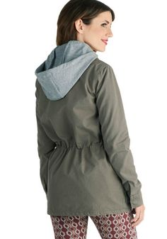 Amped for Camping Hooded Coat, #ModCloth