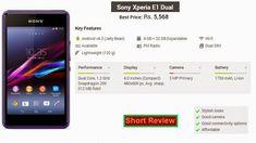 Sony Mobile Phones, Mobile Phone Price, Latest Phones, Latest Mobile, Sony Xperia, Dual Sim, Mobiles, Mobile Phones