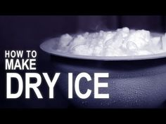 How to Make Dry Ice - With a Fire Extinguisher!