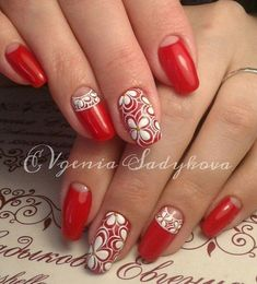 Having short nails is extremely practical. The problem is so many nail art and manicure designs that you'll find online Spring Nail Art, Spring Nails, Cute Nails, Pretty Nails, Nagel Gel, Pedicures, Flower Nails, Easy Nail Art, Beautiful Nail Art