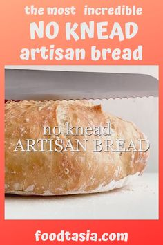 World's EASIEST and BEST crusty, artisan No Knead Bread with a rustic crust and a soft chewy interior. Made in a dutch oven, with other options for baking. Knead Bread Recipe, No Knead Bread, Philippine Cuisine, Dutch Oven Bread, Foil Dinners, Western Food, Chocolate Chip Banana Bread, How To Grill Steak, Supper Recipes