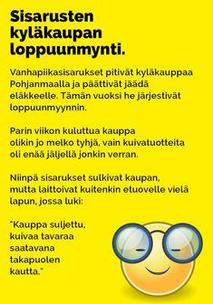 Vitsit: Sisarusten kyläkaupan loppuunmyynti - Kohokohta.com