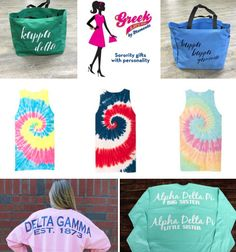 Check out the NEW sorority sugar • Greek Life Girl SORORITY SUMMER GIVEAWAY!!!!! WIN: A customized 3-piece VACAY grand prize ~ [1} sorority Spirit Jersey, {1} greek letter tie dye tank top and {1} sorority script tote bag from Premier Tier Accessory Sponsor GLG!! Your choice of greek letters, colors and prints. Show your sorority spirit at the beach or lake this summer! ENTER TODAY: http://sororitysugar.tumblr.com/giveaway