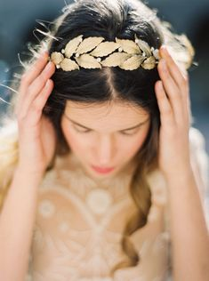 FIne Art Bridal Accessories by Melinda Rose Design | Wedding Sparrow | Erich McVey Photography