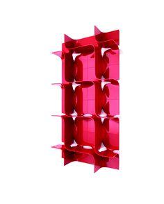 Tide de Zaha Hadid pour Magis -   LSD Magazine n°2 - Shopping rouge