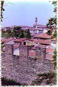 Florence Town Walls - Oltrarno District