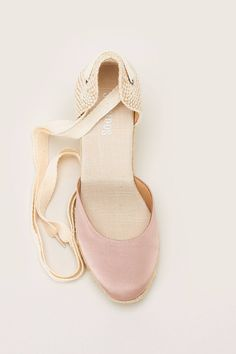 Espadrilles compensées Tall Wedge rose  zoom