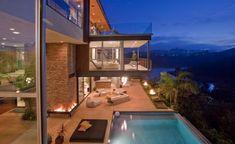 J. Bieber's mansion in Hollywood