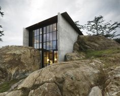 Tom Kundig: Houses 2  The Pierre in Lopez Island, Washington by Olson Kundig Architects.    Photograph by Dwight Eschliman.