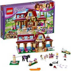 buy now Use the horse exerciser to warm up the ponies, then practice jumping-you can even raise the bar when you've got the hang of it. Groom the horses . Legos, Lego Lego, Lego Batman, Lego Ninjago, Toys For Girls, Kids Toys, Lego Friends Sets, Lego Super Heroes, Birthday Gifts For Girls