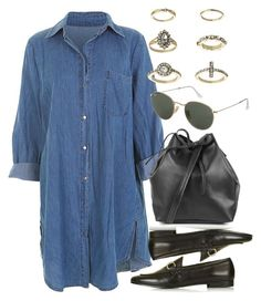 """""""Untitled #5375"""" by rachellouisewilliamson on Polyvore featuring Topshop"""