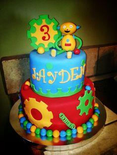 Robot cake Birthday Cake Photos