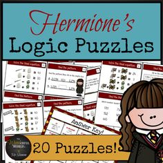 NO PREP! Challenge your high flying muggles with these critical thinking logic puzzles! The PERFECT addition to any math classroom grades 2-4 that wish to promote critical thinking skills and help increase math stamina. Allowing students to struggle increases their