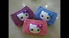 Resultado de imagen para carteritas tejidas a crochet para niñas