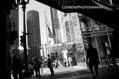 Walking in Shadow. © Liz Irene Photography