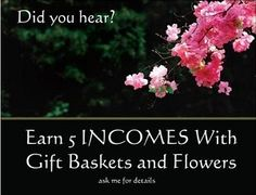 Earn from home selling gift baskets online with Bella Baskets