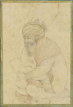 A Seated Dervish, Persia, Safavid, early 17th century