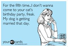 Dog Party Humor - Enjoy Professional Pet Psychic Party Readings at Your Next Pet Event - Click the link to Get Started.