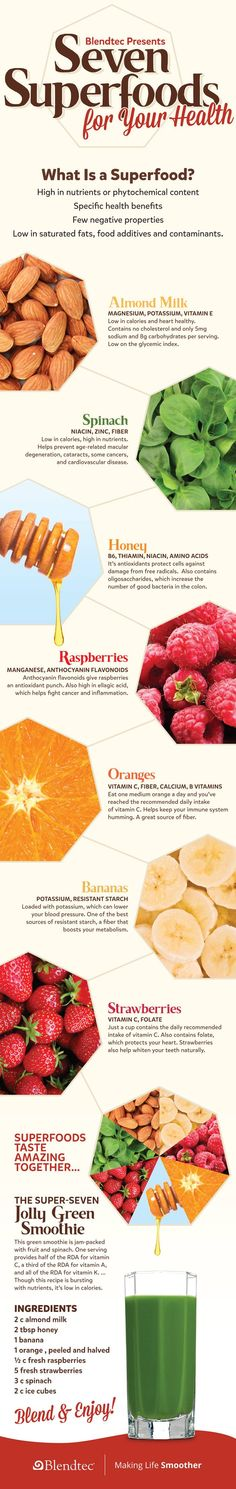 7 Superfoods for Your Health | Healty Food | Awesome Body