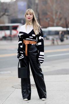 New York Fashion Week Street Style Fall 2018 Day 3