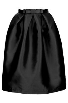 This skirt is 50s inspired The length and the way the shape goes out instead of falling  Topshop