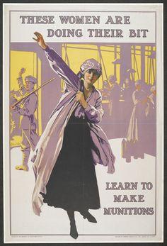 Ismeretlen művész: Learn to make munitions (1917)