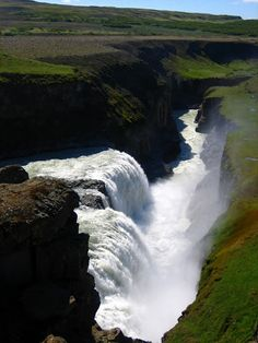 Gullfoss in Iceland | Stunning Places #StunningPlaces